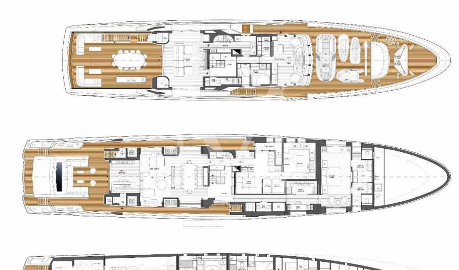 48M BAGLIETTO READY FOR HER NEW OWNER IN SUMMER 2018 - - M-BLUEYACHTS
